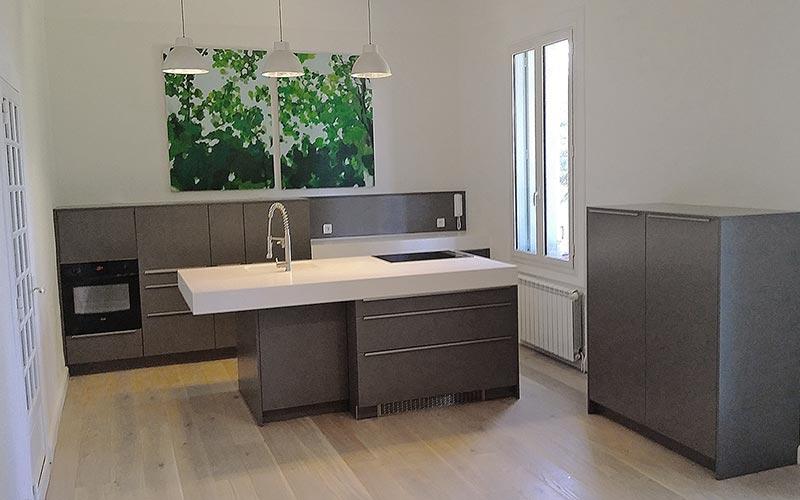 Cuisine ouverte sur salon cuisine ouverte sur salon de - Comment amenager une cuisine ouverte sur salon ...