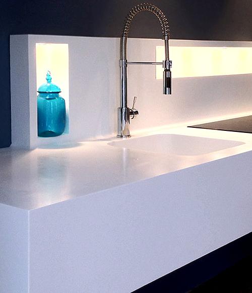 Stunning Credence Corian Ideas - House Design - marcomilone.com